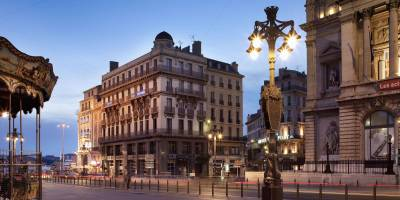 Hotel Escale Oceania Marseille