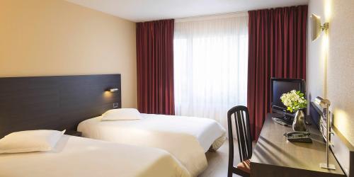 Hotel 3 étoiles Brest aéroport Escale Oceania - Chambre Confort Twin.jpg