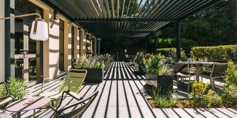 Hotel Escale Oceania Aix en Provence 3 star - Terrace