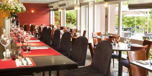 Hotel 3 étoiles Brest aéroport Escale Oceania - Salle restaurant.jpg