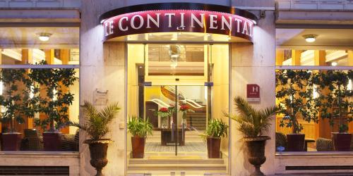 Facade Hotel Oceania 4 etoiles Le Continental Brest (2).jpg
