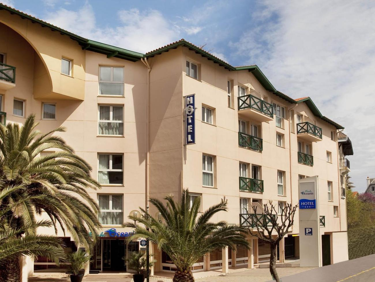 Hotel Escale Oceania Biarritz 3*