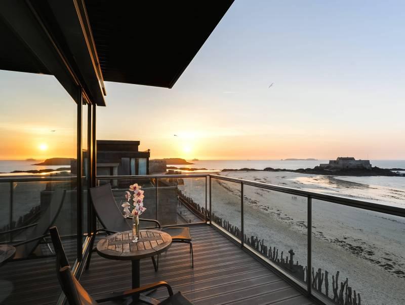 hotel vue mer a st malo - Hotel 4 étoiles Oceania saint malo - Oceania Hotels
