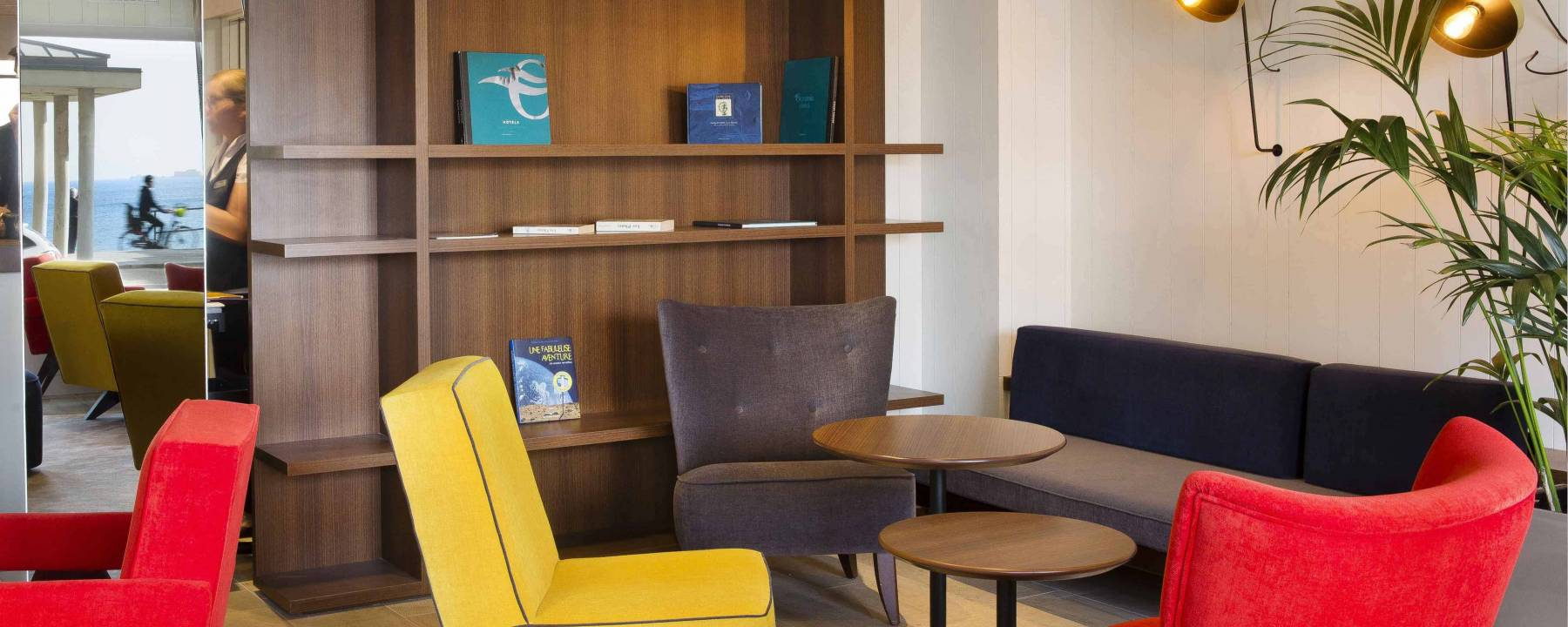 Hotel 3 etoiles Escale Oceania Saint Malo - Lobby.jpg